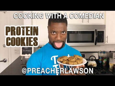 Cooking With A Comedian - Protein Cookie @PreacherLawson thumbnail