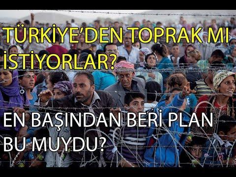 SURİYELİLER TÜRKİYE'Yİ İŞGAL