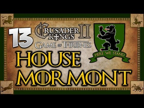 KING OF THE BEARLANDS! Game of Thrones - Seven Kingdoms Mod - Crusader Kings 2 Multiplayer #13