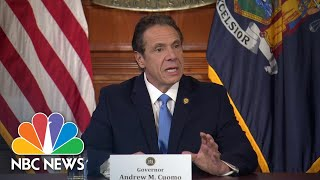 Cuomo: Federal Government 'Must' Step In Before Coronavirus Overwhelms Hospitals   NBC News