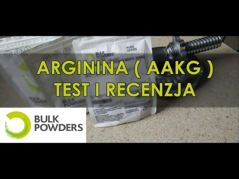 Bulk Powders - Arginina - AAKG - Recenzja i Test - AestheticAdvisory