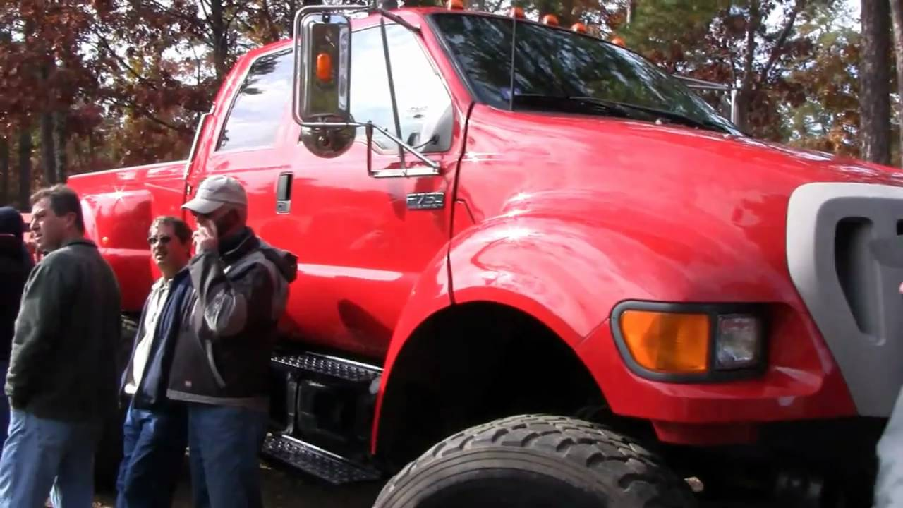 FORD F750 PICK UP QUICK LOOK - YouTube