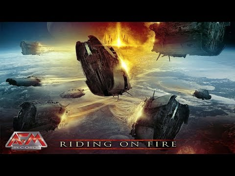 IRON SAVIOR - Riding On Fire (2017) // official audio // AFM Records