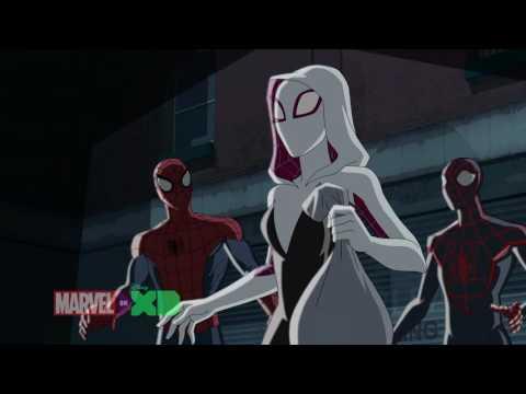 Spider-Man & Kid Arachnid Meet Spider-Gwen!! | Marvel's Ultimate Spider-Man Vs. The Sinister Six