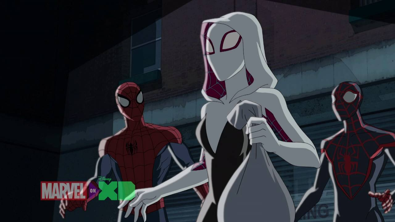 Spider Man Amp Kid Arachnid Meet Spider Gwen Marvel S