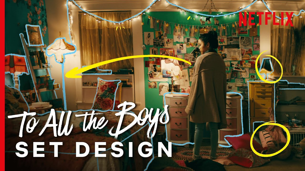 How They Made To All The Boys Lara Jean S Bedroom Design Explained Youtube