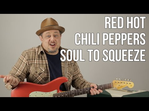 Red Hot Chili Peppers  Soul To Squeeze  How to Play on Guitar  Guitar Lesson  Frusciante