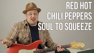 Video Red Hot Chili Peppers - Soul To Squeeze - How to Play on Guitar - Guitar Lesson - Frusciante download MP3, 3GP, MP4, WEBM, AVI, FLV Agustus 2018