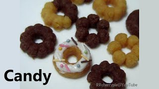 Kracie - happy kitchen 1 - Doughnuts shaped Candy Kit thumbnail