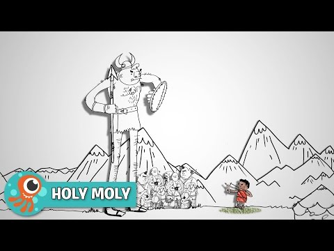 David and Goliath Preview Clip | Holy Moly | JellyTelly