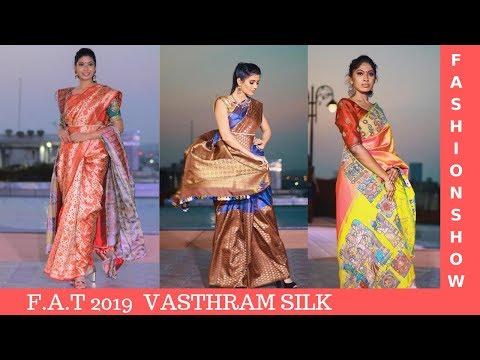 Fashion Show | Vasthram Silk Designer Saree collection