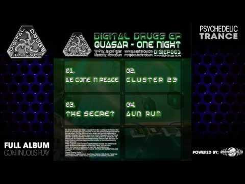 Quasar - One Night EP (digiep001 / Digital Drugs Coalition) ::[Full Album / HD]::