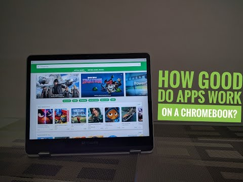 do android apps work on chromebook need