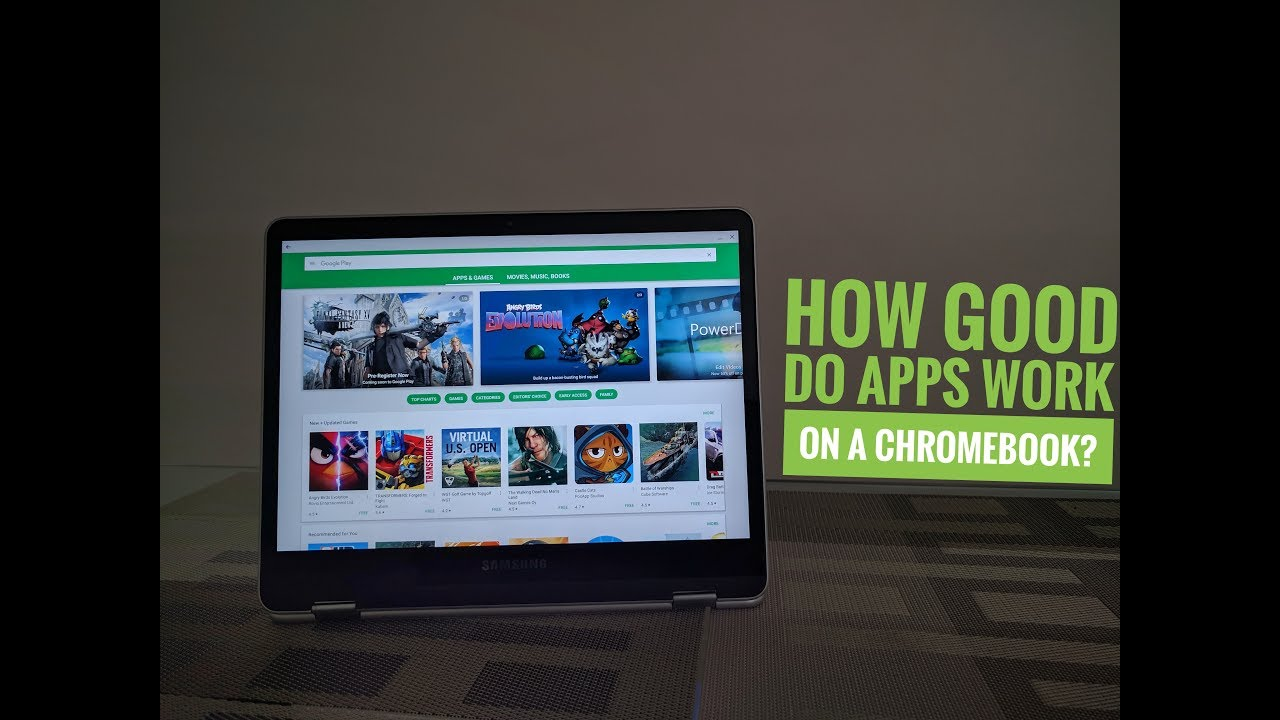 How Do Android Apps Work On Chromebook / Chrome OS?