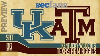 Texas A&M vs Kentucky - 2018 Preview & Predictions - College Football Wildcats & Aggies