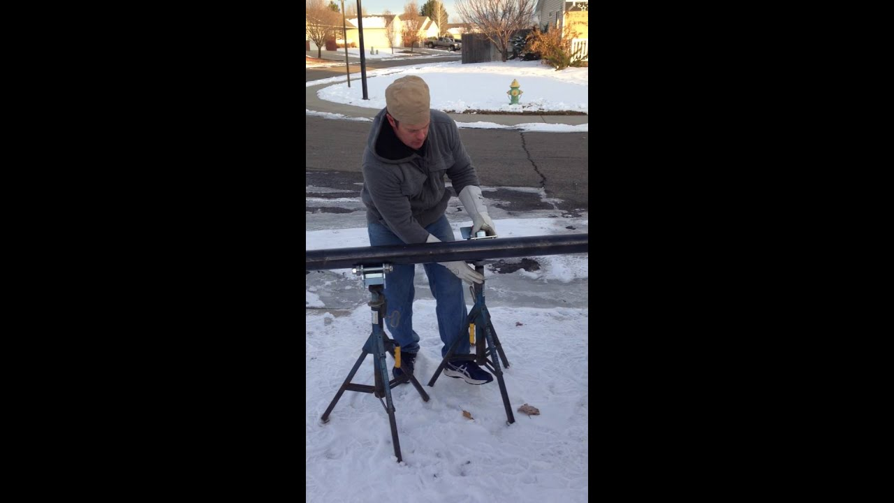 Pipe Jack Stands >> Jack Stand Roller Heads For Pipe Welding - YouTube