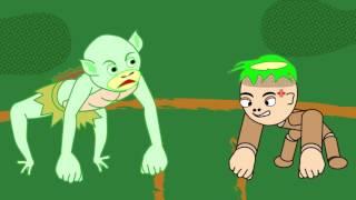 73歳のおじいちゃんがエクセルで作ったキャラクターが動く!GGアニメ第1弾「どんぐり君とカッパ君」