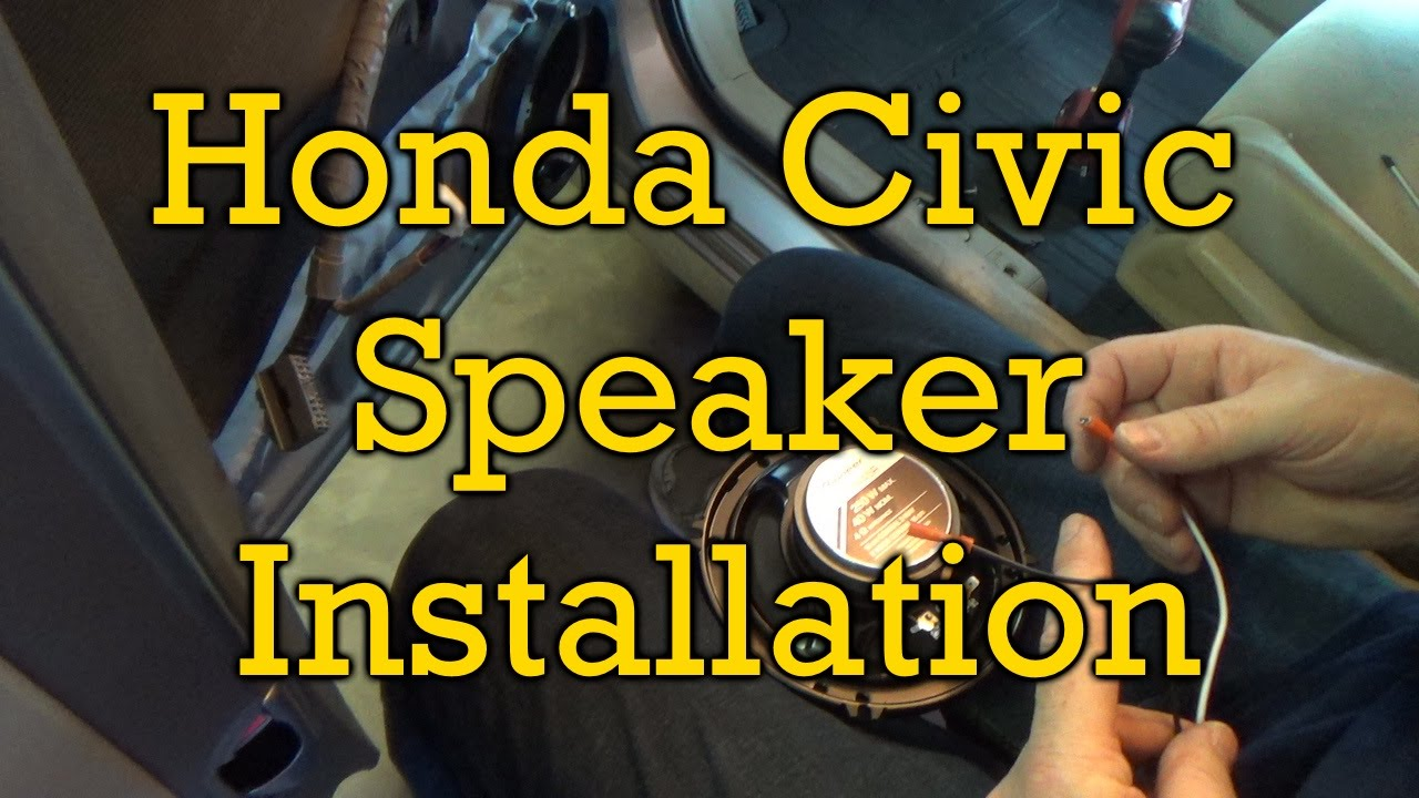 Honda Civic Speaker Installation 2006 2011 Similar Youtube Oem 1996 Ex Sedan Door Wiring Diagram