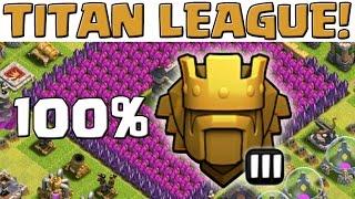 100% IN TITAN LEAGUE! || CLASH OF CLANS || Let's Play CoC [Deutsch/German HD+]