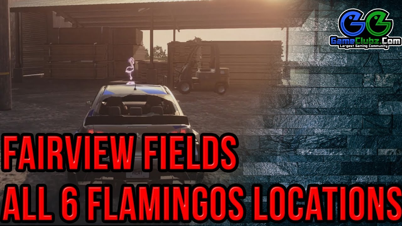 Need For Speed Heat Fairview Fields Flamingos Locations Nfs 2019