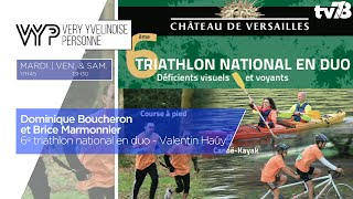 VYP. 6e triathlon national en duo – Valentin Haüy