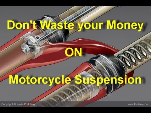 Don't Waste Your Money On Motorcycle Suspension