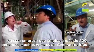 EL INTENDENTE VISITÓ LA EMPRESA ALIMENTICIA FARMESA