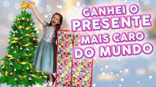 GANHEI O PRESENTE MAIS CARO DO MUNDO