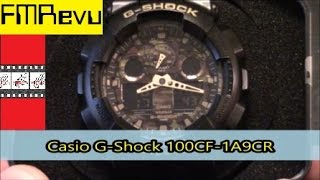 Casio G-Shock GA100CF-1A9CR | Men's Fashion Watch Review