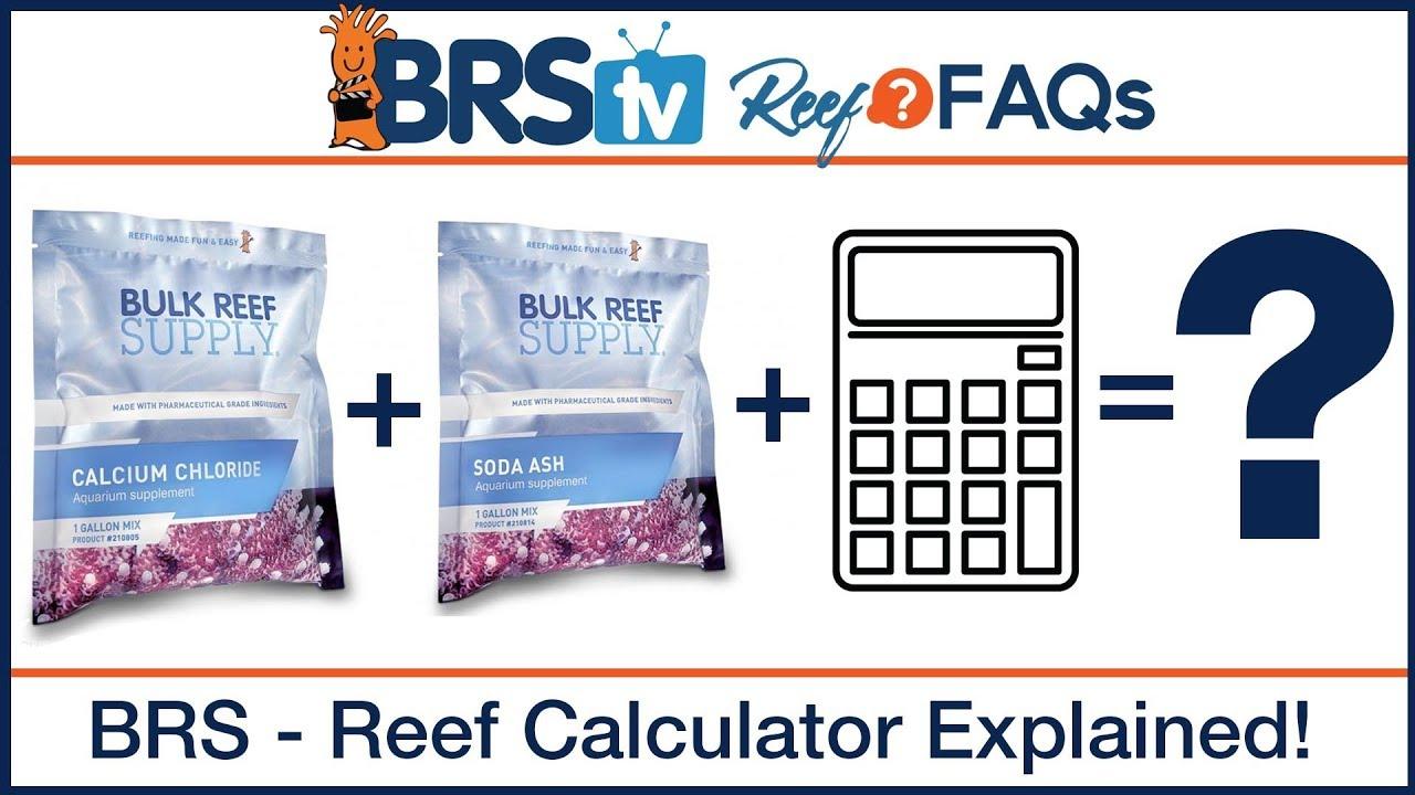 Aquarium & Reef Calculators - Bulk Reef Supply