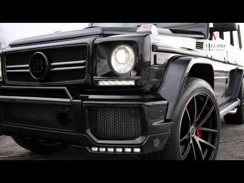 Тюнинг Mercedes Benz G63 AMG от Brabus и Vellano Wheels
