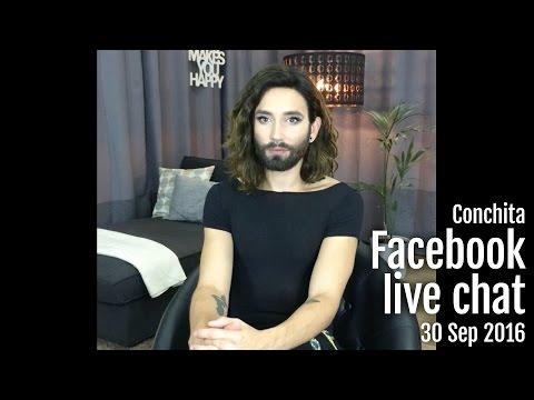 Conchita - Facebook Live Chat 30 Sep 2016