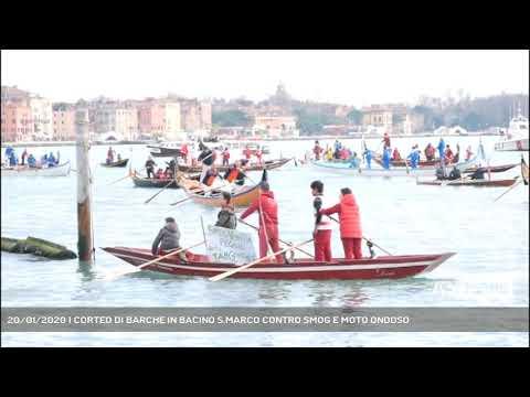 20/01/2020 | CORTEO DI BARCHE IN BACINO S.MARCO CO...