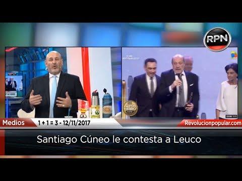 Santiago Cúneo destrozó a Leuco