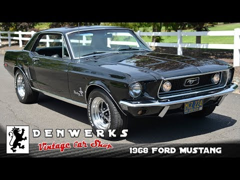 1968 Ford Mustang 289 DENWERKS.com  Bring A Trailer Auctions