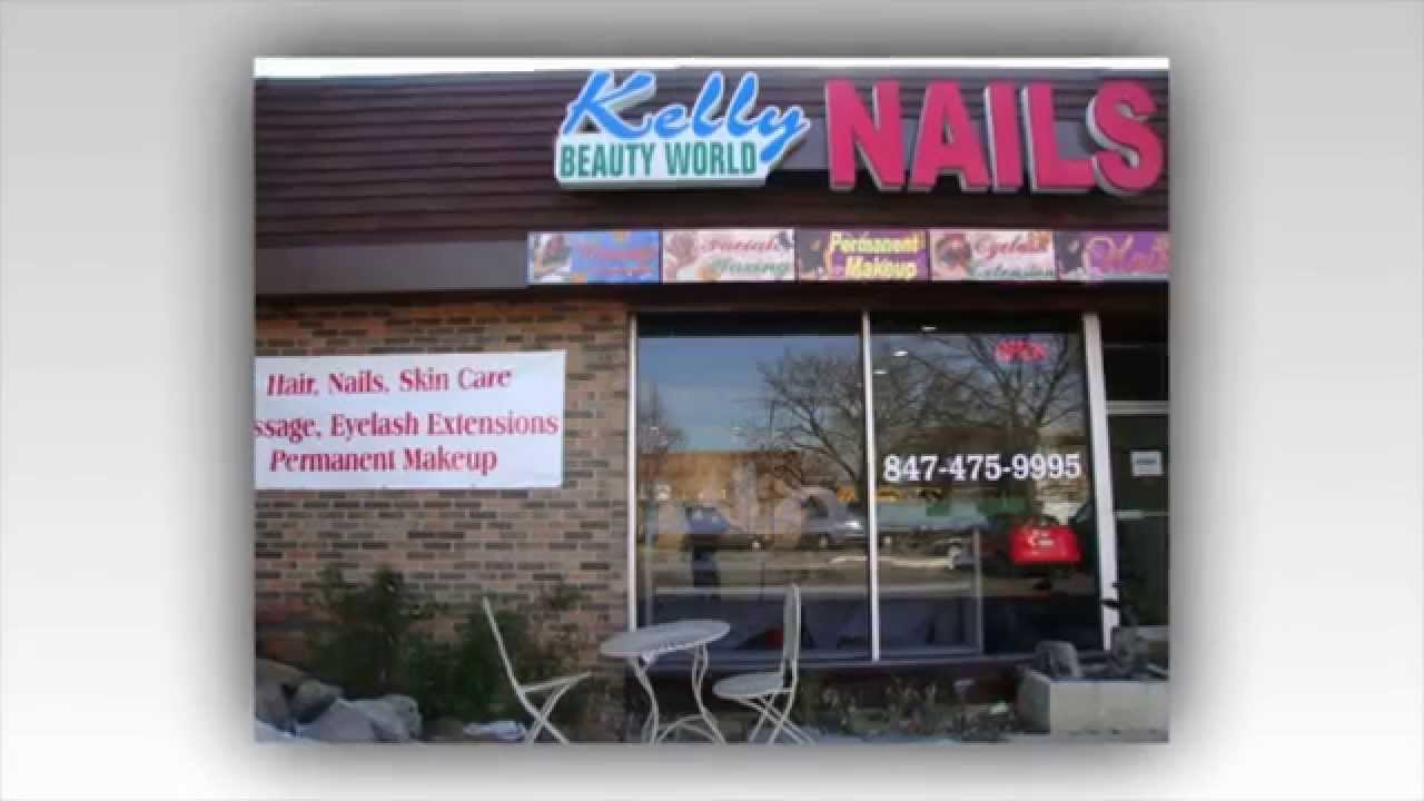 Kelly Nails in Evanston, IL 60202 (1011) - YouTube
