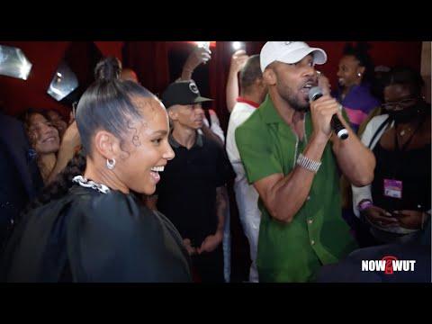 Alicia Keys - Cham at Swizz Beatz birthday Extravaganza : Ghetto Story