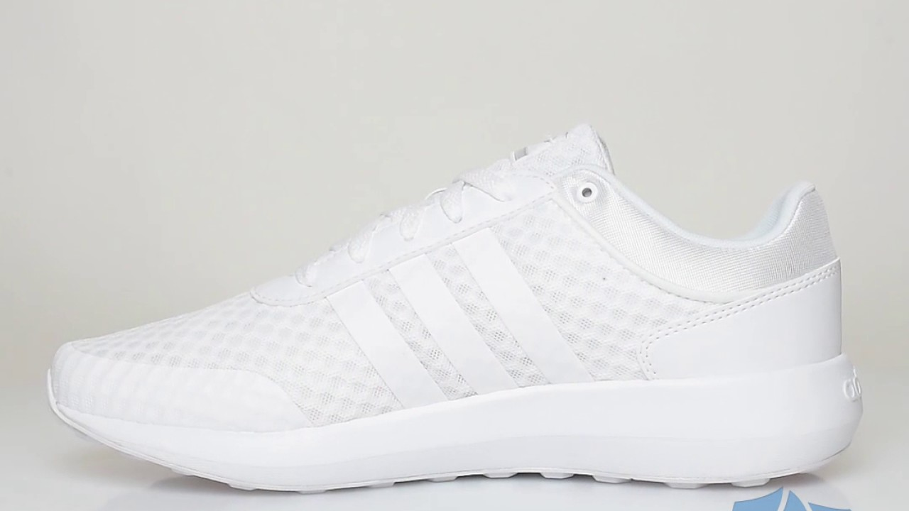 adidas cloudfoam swift racer white