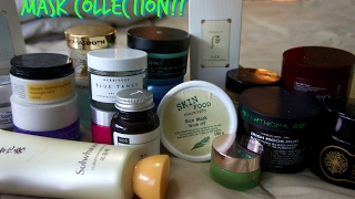 MASK COLLECTION :: HYDRATING, EXFOLIATING, DECONGESTING, AND MORE!!