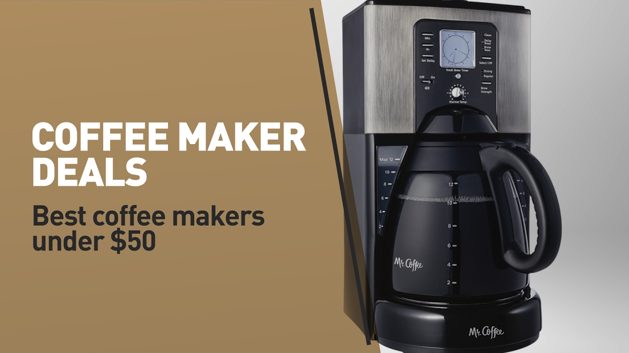 Top Best Coffee Makers Under 50 Review Best Drip