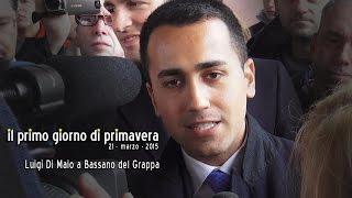 Il primo giorno di primavera - 21marzo 2015 -  Luigi Di Maio (M5S) a Bassano del Grappa
