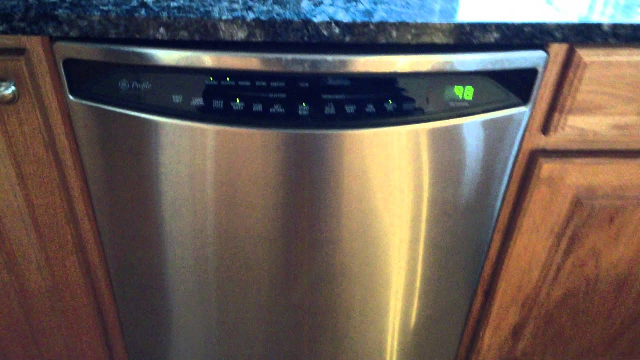 GE Profile Stainless Dishwasher