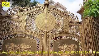 Cổng nhôm đúc Bình Phước