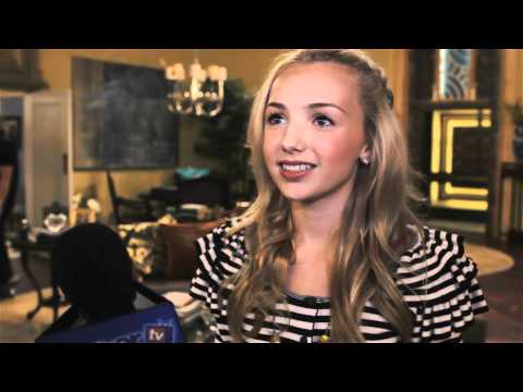 Peyton List On Set 'Jessie' Interview