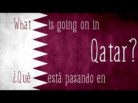 ¿Qué ocurre en Catar? ¿Aviones, supermercados vacíos? - vídeo de un español en Catar.