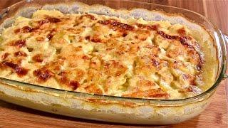Kartoffelgratin-Kartoffelauflauf klassisch zubereitet-Kartoffelauflauf vegetarisch