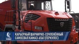 Водоробус, Континент, Геркулес, Чистогор и другие — «КАМАЗ» на выставке Comtrans 2021
