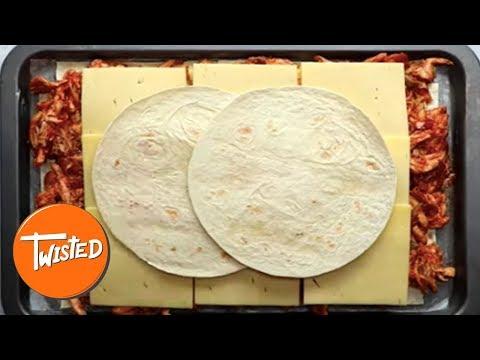 BBQ Chicken Sheet Pan Quesadilla Recipe   Twisted