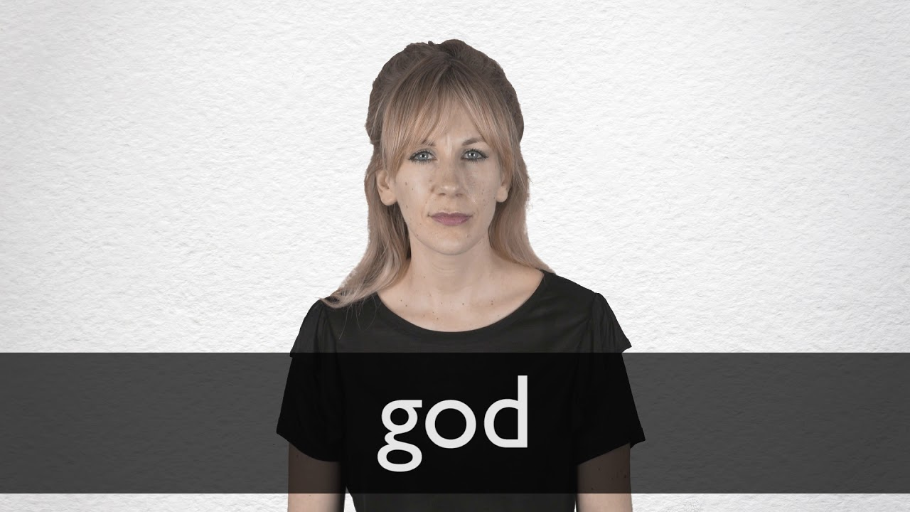 How to pronounce GOD in British English