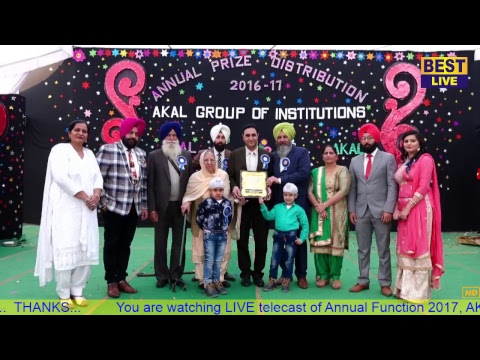 Annual Function AKAL GROUP 2017